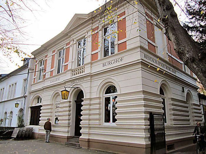 Restaurant Düsseldorf Kaiserswerth bilder und fotos zu burghof galerie restaurante gaststätte in