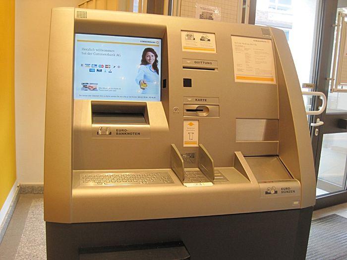 Einzahlung Commerzbank