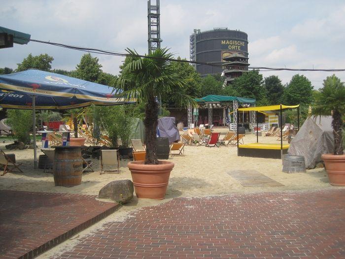 bilder und fotos zu the beach centro in oberhausen im rheinland promenade. Black Bedroom Furniture Sets. Home Design Ideas
