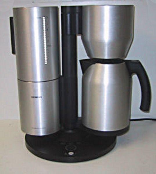 Siemens Electrogeräte GmbH In München. Siemens Porsche Design    Kaffeemaschine ...