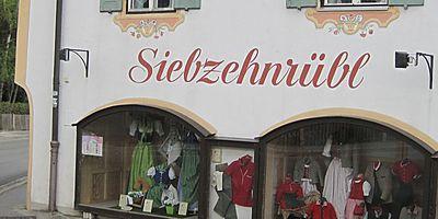Siebzehnrübl KG in Schliersee
