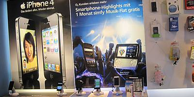 O2 Partnershop in Rosenheim in Oberbayern