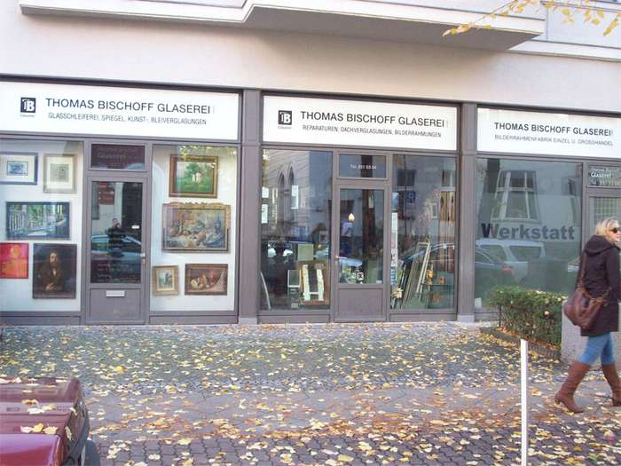 bischoff thomas glaserei gmbh glaserei 1 foto berlin friedenau hedwigstr golocal. Black Bedroom Furniture Sets. Home Design Ideas