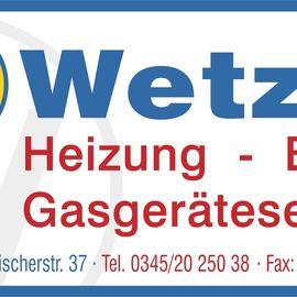 Bild zu Wetzel GmbH SanitärInstall. Gasheizungen Bauklempnerei in Halle an der Saale