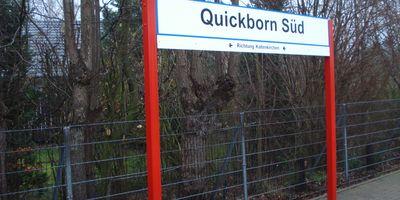 Bahnhof Qickborn Süd in Quickborn Kreis Pinneberg