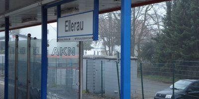Bahnhof Ellerau in Quickborn Kreis Pinneberg