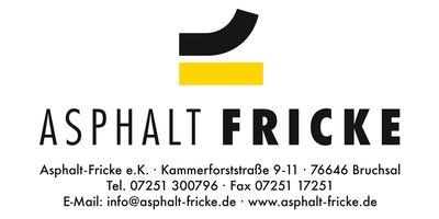 Asphalt-Fricke GmbH in Bruchsal