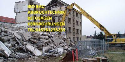 ibo Bau Betonbohren Abbruchtechnik in Duisburg