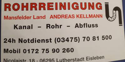 Rohrreinigung Hettstedt in Hettstedt in Sachsen Anhalt