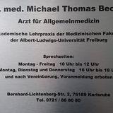 Becker Michael Dr.med. Arzt für Allgemeinmedizin in Karlsruhe