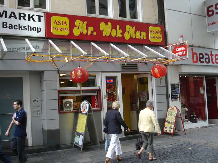 bilder und fotos zu mr wok man in k ln herzogstr. Black Bedroom Furniture Sets. Home Design Ideas