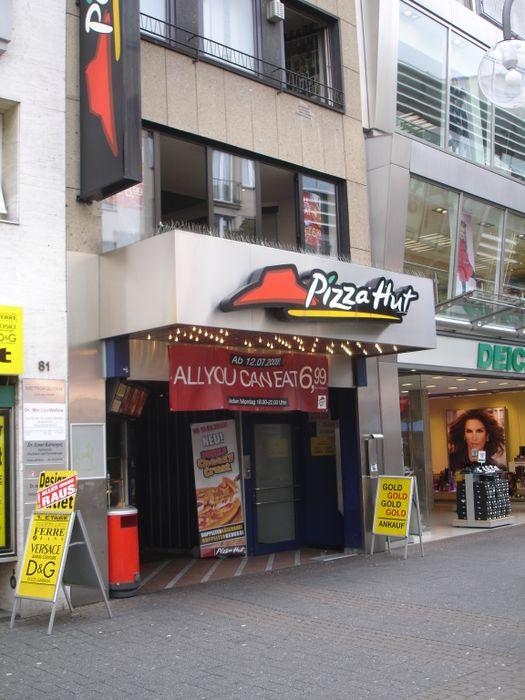 pizza hut restaurant 10 bewertungen k ln altstadt nord schildergasse golocal. Black Bedroom Furniture Sets. Home Design Ideas