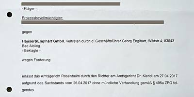 Hauser & Englhart Raumausstattung in Bad Aibling