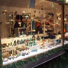 Freiburger Weihnachtsmarkt in Freiburg im Breisgau