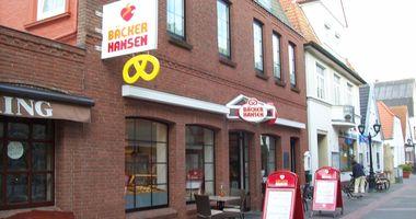 Hansen Bäckerei in Wyk auf Föhr