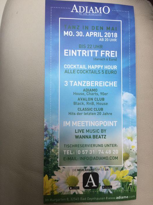 Adiamo Dance Club 15 Bewertungen Bad Oeynhausen Innenstadt Im