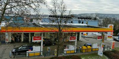 Shell Station Obn in Alzey