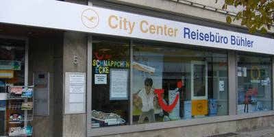 Reisebüro Bühler Lufthansa City Center in Albstadt