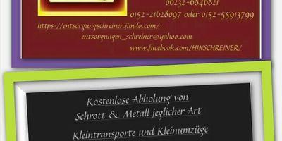 Schreiner Entsorgungen in Speyer