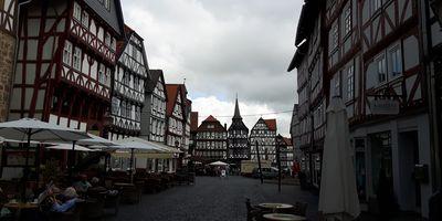 Historische Altstadt in Fritzlar