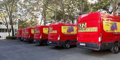 Kfz Referat Autovermietung an der Uni Frankfurt in Frankfurt am Main