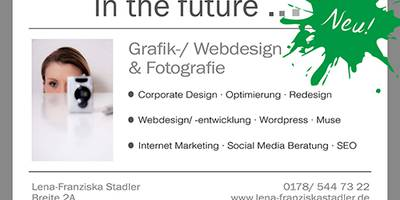 In the future... Grafikdesign, Webdesign, Fotografie, Online Marketing Coaching in Zossen in Brandenburg