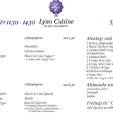 Lynn Cuisine in Hamburg