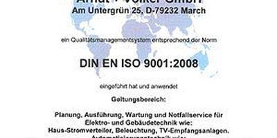 Arndt + Völker GmbH Elektroanlagen in Buchheim Gemeinde March