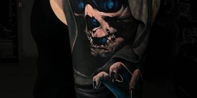 Skull Tattoo in Bad Vilbel