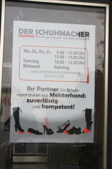 c0b275e6ae Schuhmacher Bewertungen in Deutschland | golocal