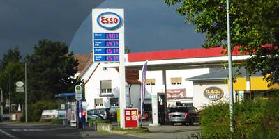 ESSO Station in Dietzenbach