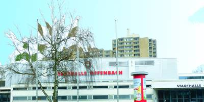 Stadthalle Offenbach in Offenbach am Main