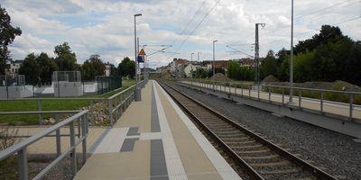 Bahnhof Meerane in Meerane