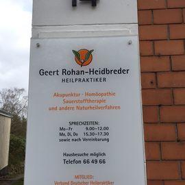Bild zu Geert Rohan-Heidbreder Heilpraktiker in Bremen