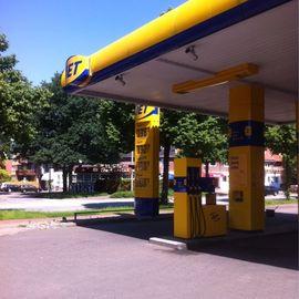 JET Tankstelle in Hamburg