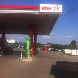 star Tankstelle in Bernburg