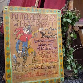 Mittelaltermarkt im Blumenhof in Pforzheim