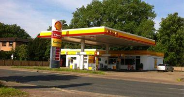 Shell Tankstelle in Lemwerder