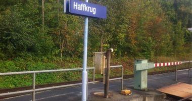 Bahnhof Haffkrug in Scharbeutz