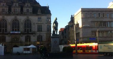 Händel-Denkmal in Halle an der Saale