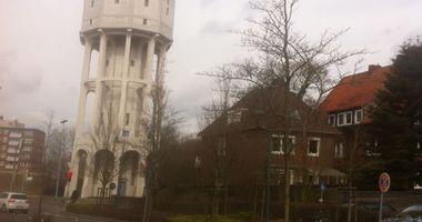 City Parkhaus am Wasserturm in Emden