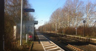 Bahnhof Bramstedt (b Syke) in Bassum