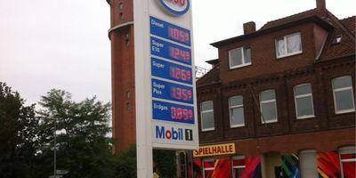 Esso Station CNG Tankstelle in Nienburg an der Weser