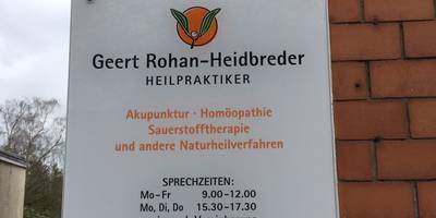 Geert Rohan-Heidbreder Heilpraktiker in Bremen