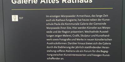Galerie Altes Rathaus in Worpswede