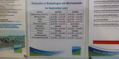 Tourist-Information Butjardingen in Butjadingen