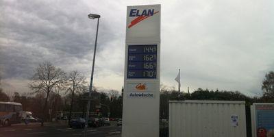Elan-Tankstelle in Papenburg