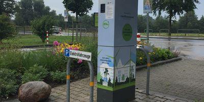 E-Ladesäule Stadtwerkegruppe Delmenhorst in Delmenhorst