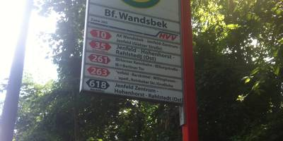 Bahnhof Hamburg-Wandsbek in Hamburg