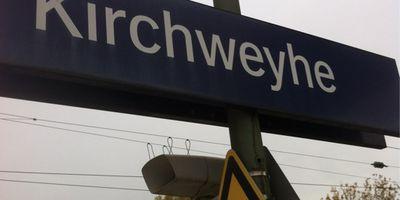 Bahnhof Kirchweyhe in Weyhe bei Bremen
